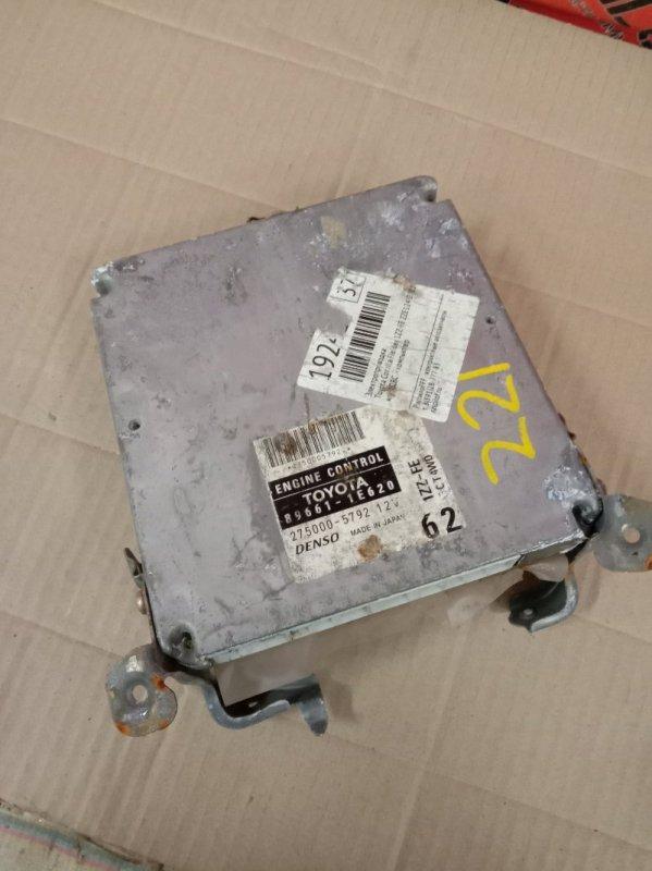 Блок управления двигателем Toyota Corolla Fielder ZZE124 1ZZ-FE 2001