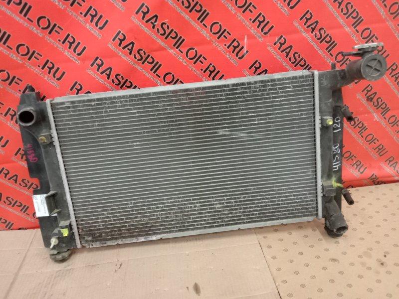 Радиатор двигателя Toyota Corolla Runx ZZE124 1ZZ-FE 2005