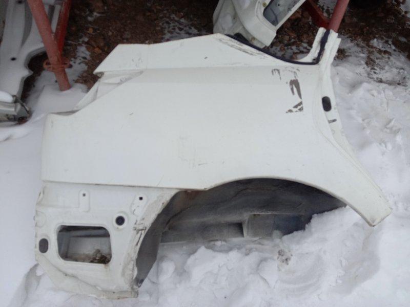 Крыло Toyota Caldina ZZT241 1ZZ-FE 2003 заднее правое