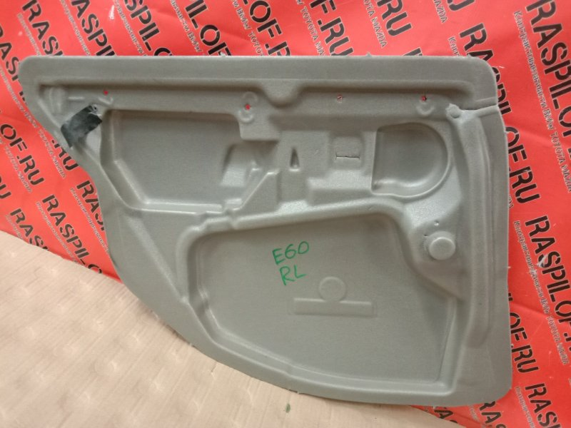 Обшивка двери Bmw 5-Series E60 M54B30 2005 задняя левая