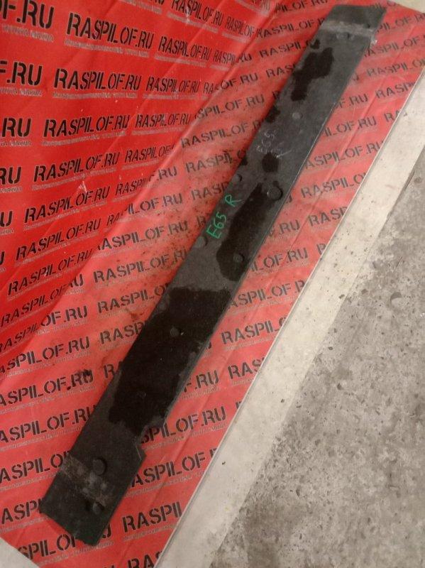 Усилитель бампера Bmw 7-Series E65 N62B48 2007 задний