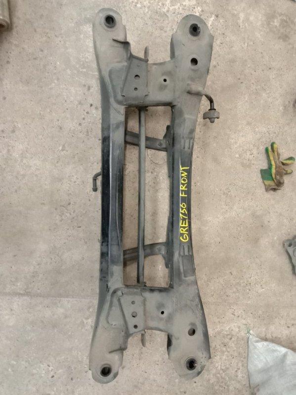 Балка поперечная Toyota Blade GRE156 2GR-FE 2007 задняя