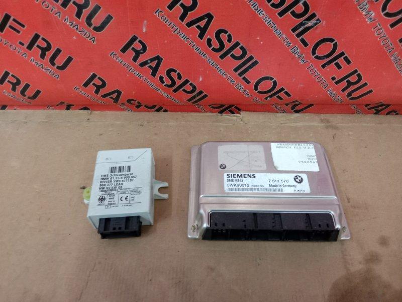 Блок управления двс Bmw 3-Series E46 M54B22 2001
