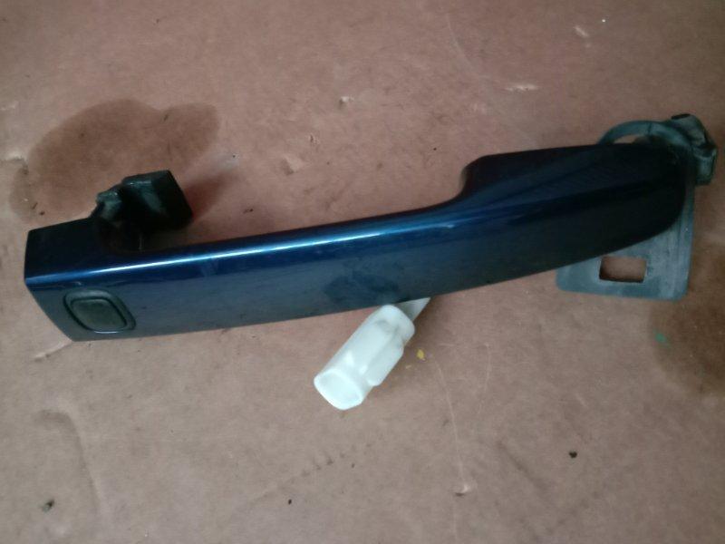 Ручка наружная Toyota Auris NZE151 2005 передняя правая