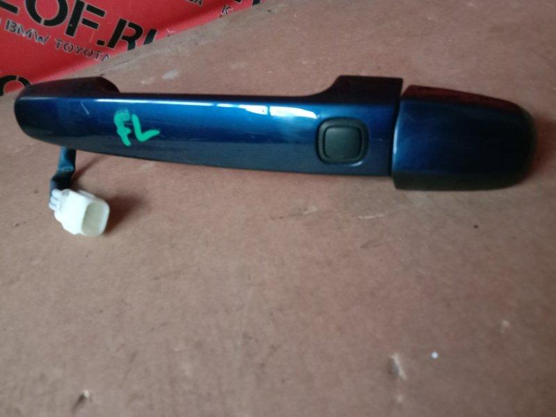 Ручка наружная Toyota Auris NZE151 2005 передняя левая