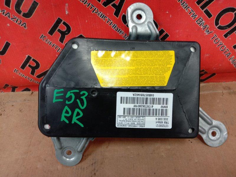 Аирбаг Bmw X5-Series E53 N62B44 2004 задний правый