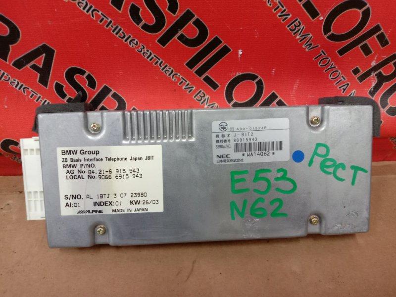 Блок управления телефоном Bmw X5-Series E53 N62B44 2004