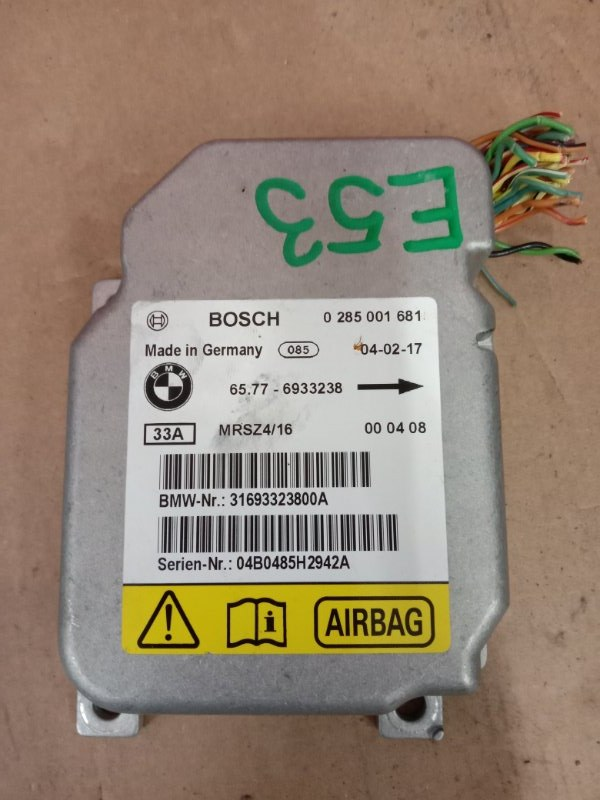 Блок управления air bag Bmw X5 E53 N62B44 2004