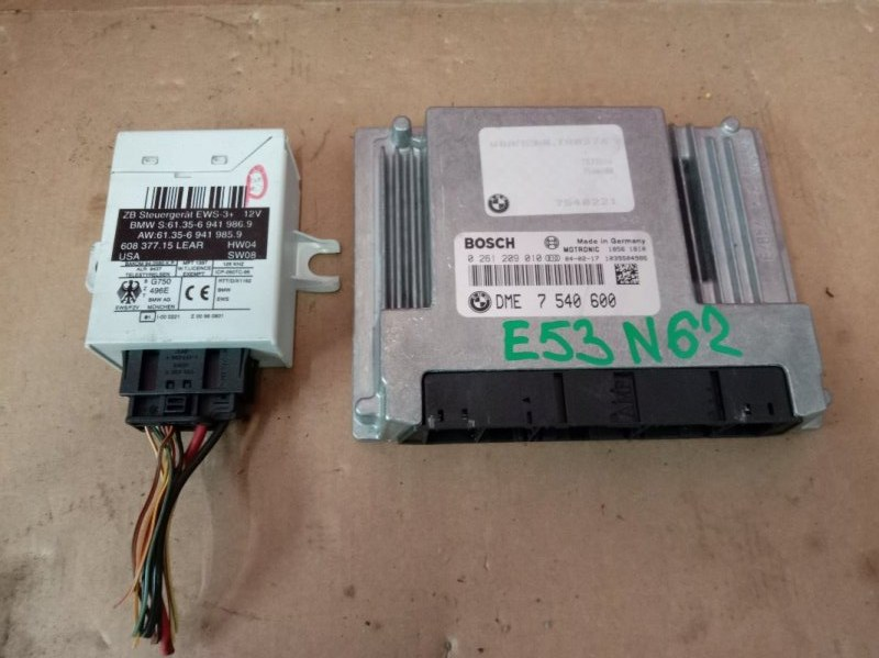 Блок управления двс Bmw X5 E53 N62B44 2004