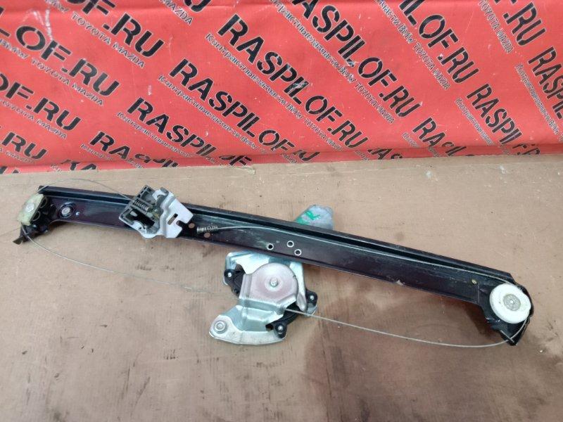 Стеклоподъемник Bmw X5-Series E53 N62B44 2004 задний правый