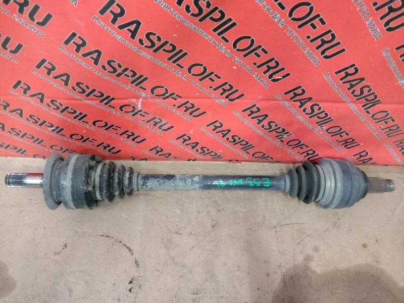 Привод Bmw X5-Series E53 N62B44 2004 задний левый