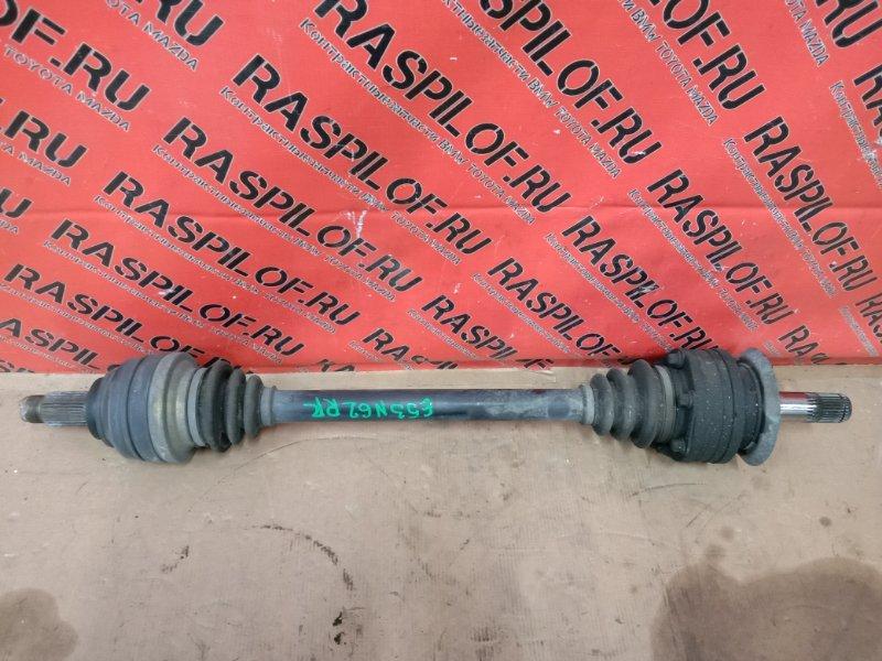 Привод Bmw X5-Series E53 N62B44 2004 задний правый