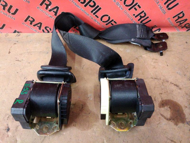 Ремень безопасности Bmw X5 E53 M54B30 2001 передний
