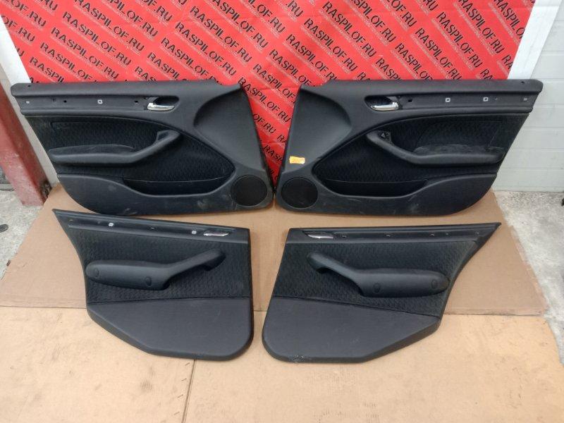 Обшивка двери Bmw 3-Series E46 M54B22 2001