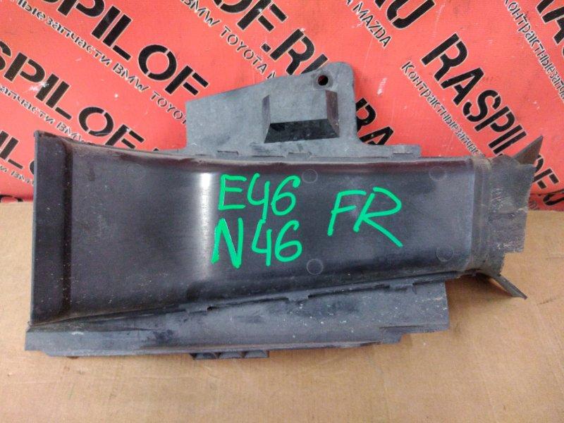 Воздухозаборник Bmw 3-Series E46 N46B20 2004 передний правый