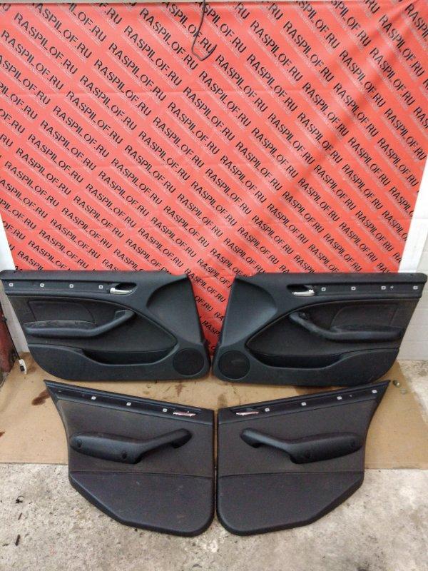 Обшивка двери Bmw 3-Series E46 N46B20 2004