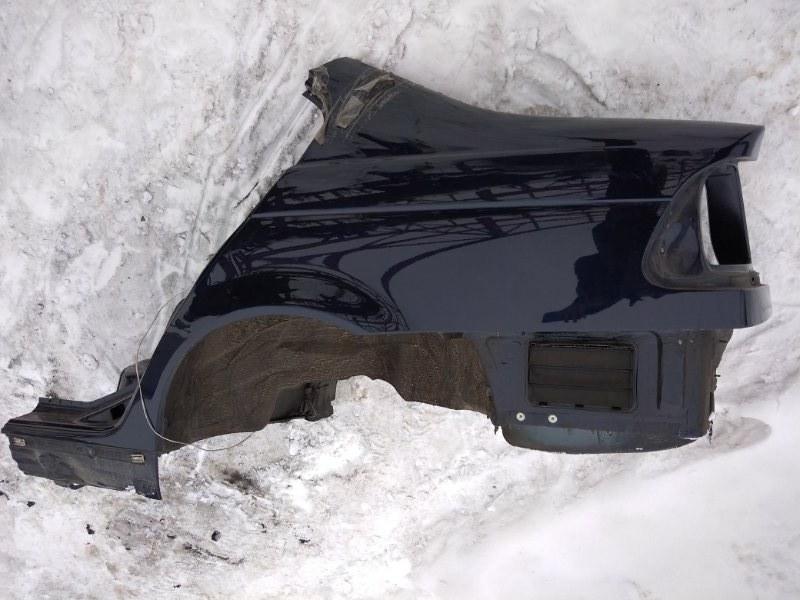 Крыло Bmw 3-Series E46 N46B20 2004 заднее левое