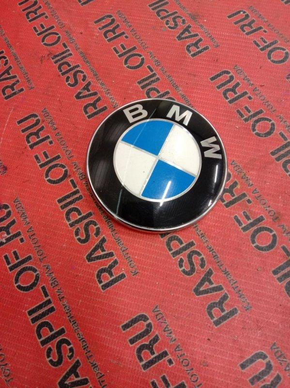 Эмблема Bmw 5-Series E60 N52B25 2009 задняя