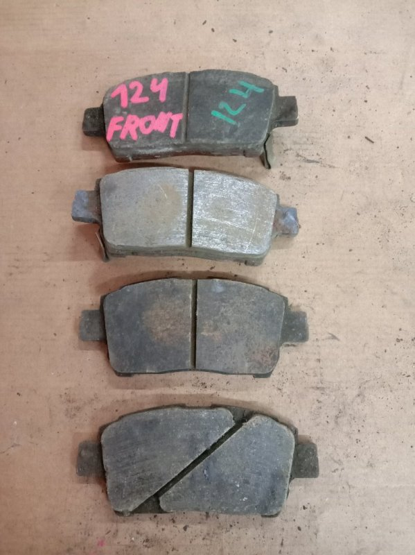 Тормозные колодки Toyota Corolla Runx ZZE124 1ZZ-FE 2005 переднее