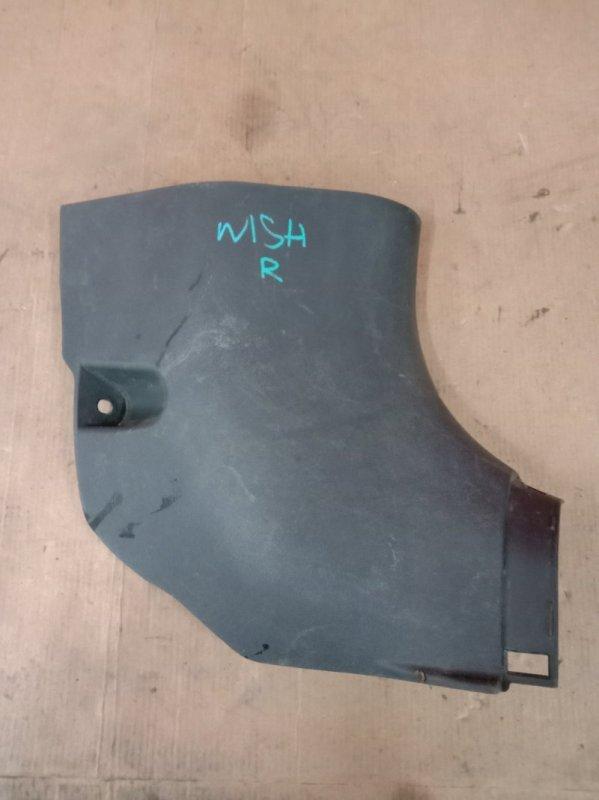 Пластиковые детали салона Toyota Wish ZNE10 1ZZ 2003 переднее правое