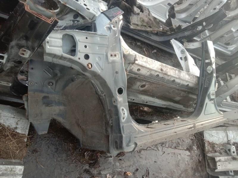 Порог Toyota Corolla Fielder ZRE144 2ZR-FE 2008 левый
