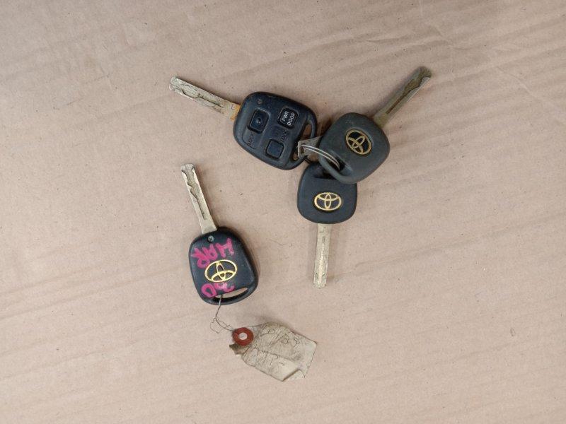 Ключ Toyota Harrier GSU30 2GR-FE 2005