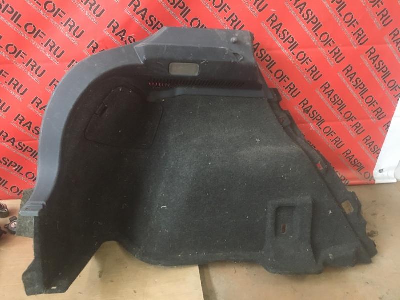 Обшивка багажника Toyota Blade GRE156 2GR-FE 2004 задняя левая