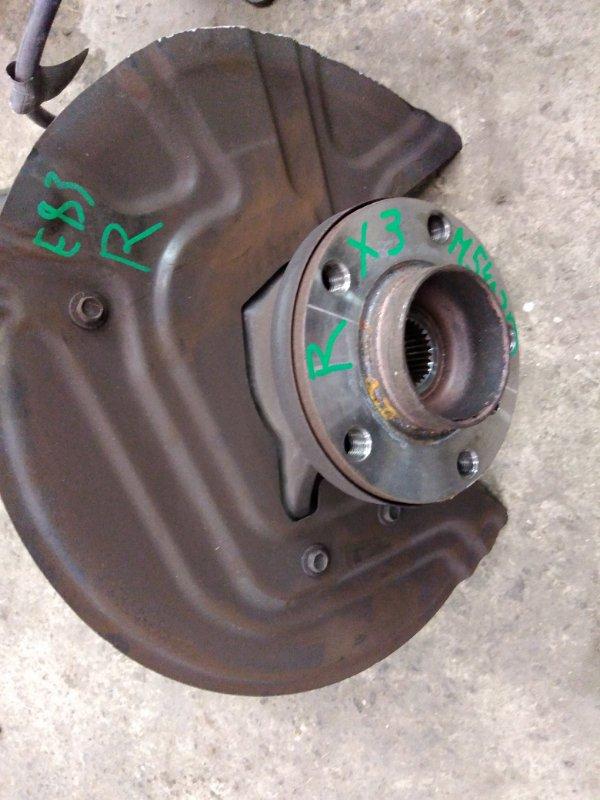 Ступица Bmw X3 - Series E83 M54B30 2005 передняя правая