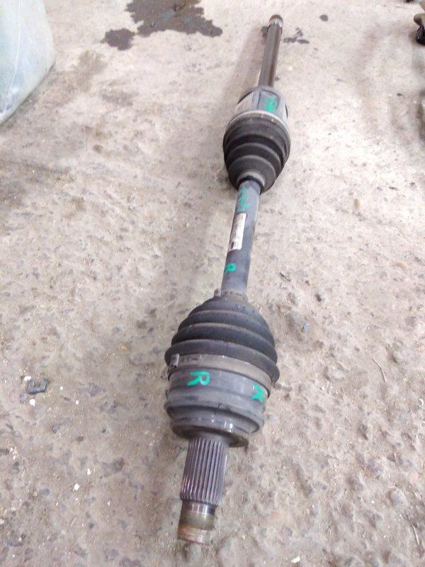 Привод Bmw X3 - Series E83 M54B30 2005 передний правый