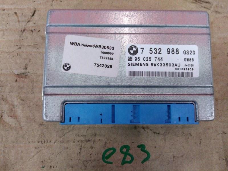 Блок управления кпп Bmw X3 - Series E83 M54B30 2005