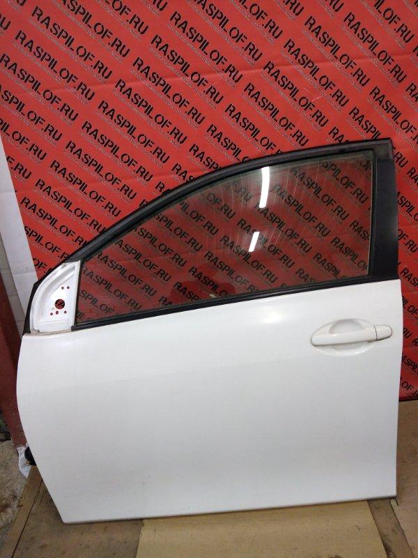 Дверь боковая Toyota Corolla Axio NZE144 1NZ-FE 2010 передняя левая