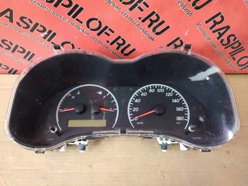 Комбинация приборов Toyota Corolla Axio NZE144 1NZ-FE 2010