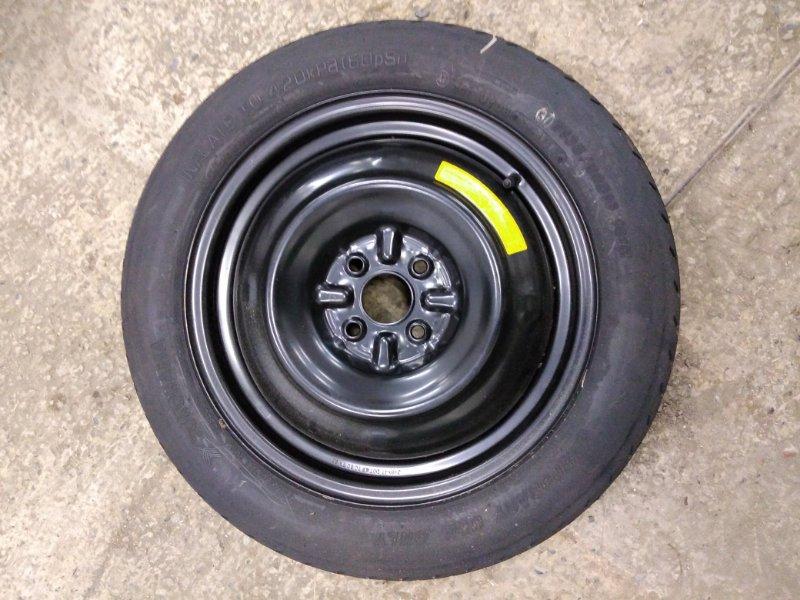 Запасное колесо Toyota Corolla Axio NZE144 1NZ-FE 2010