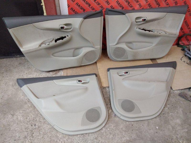 Обшивка двери Toyota Corolla Axio NZE144 1NZ-FE 2010