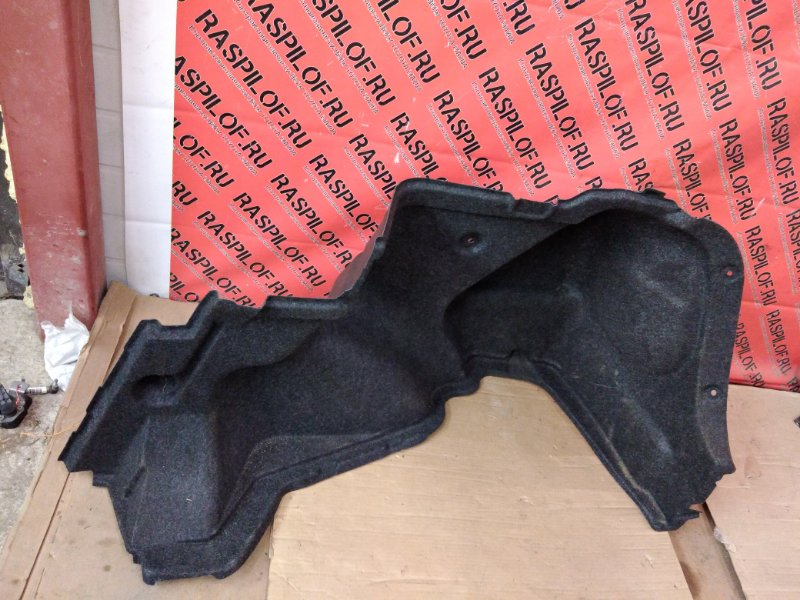 Обшивка багажника Toyota Corolla Axio NZE144 1NZ-FE 2010 задняя правая