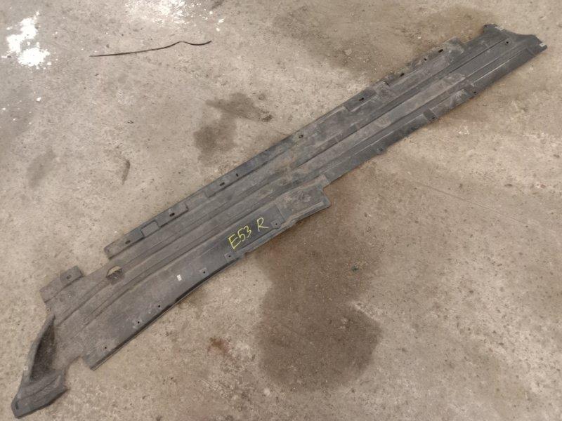 Пластиковая защита Bmw X5-Series E53 M62B44 2002 правая