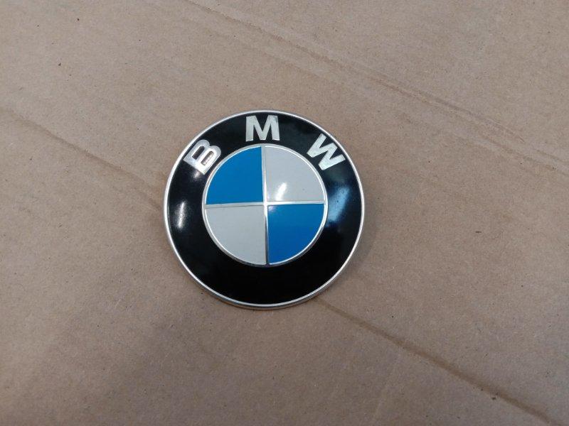 Эмблема Bmw 5-Series E60 N52B30 2005 передняя