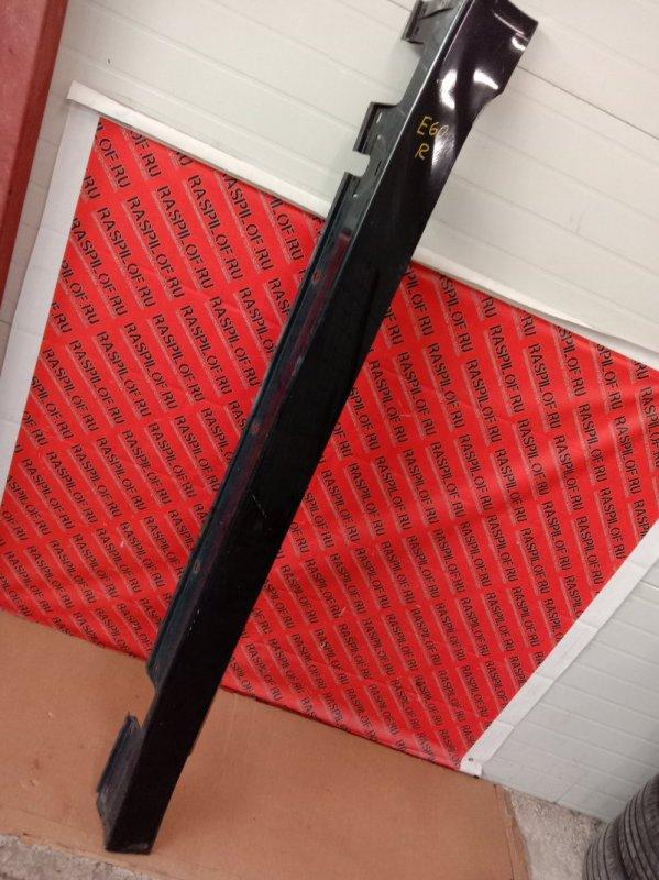 Накладка на порог Bmw 5-Series E60 N52B30 2005 правая