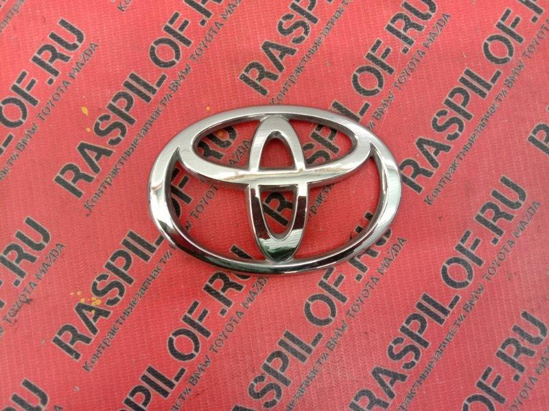 Эмблема Toyota Corolla Runx ZZE123 2ZZ-GE 2001 задняя