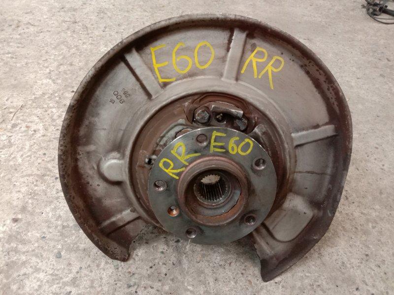 Ступица Bmw 5-Series E60 N52B30 2005 задняя правая