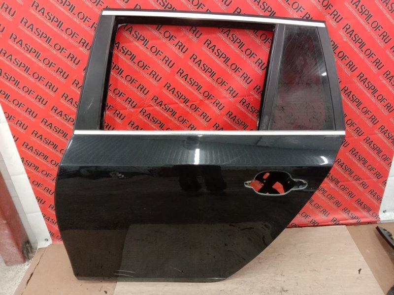 Дверь боковая Bmw 5-Series E60 N52B30 2005 задняя левая