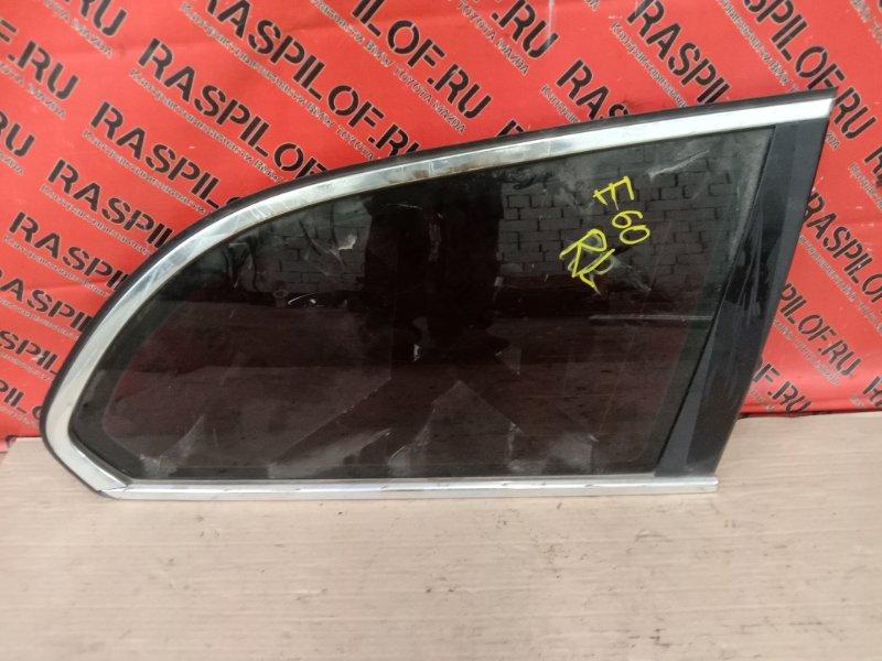Стекло собачника Bmw 5-Series E60 N52B30 2005 заднее правое