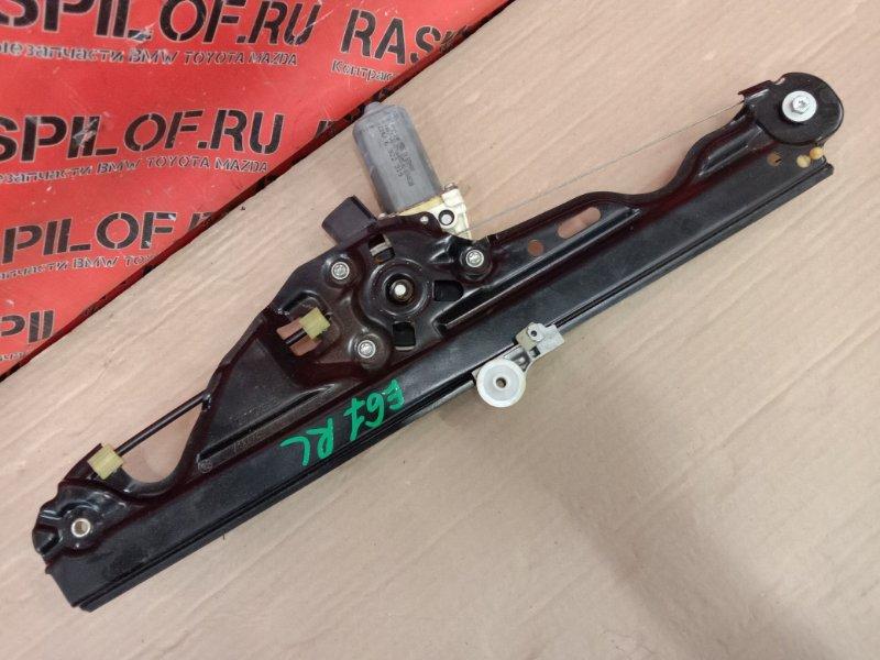 Стеклоподъемник Bmw 5-Series E60 N52B30 2005 задний левый
