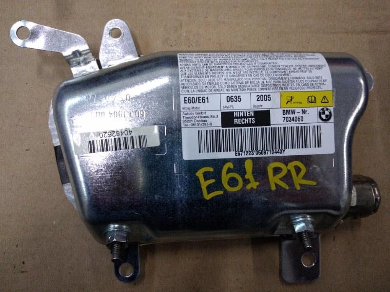 Аирбаг Bmw 5-Series E60 N52B30 2005 задний правый