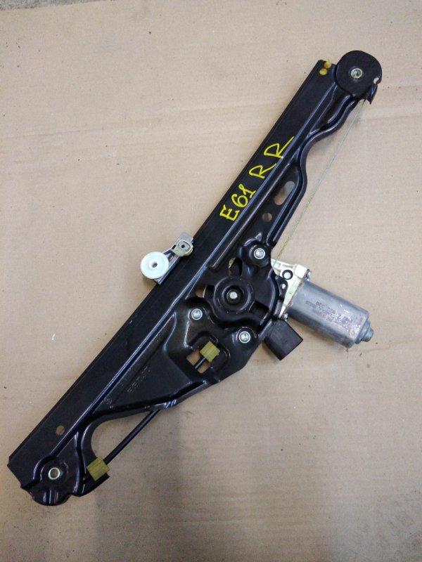 Стеклоподъемник Bmw 5-Series E60 N52B30 2005 задний правый
