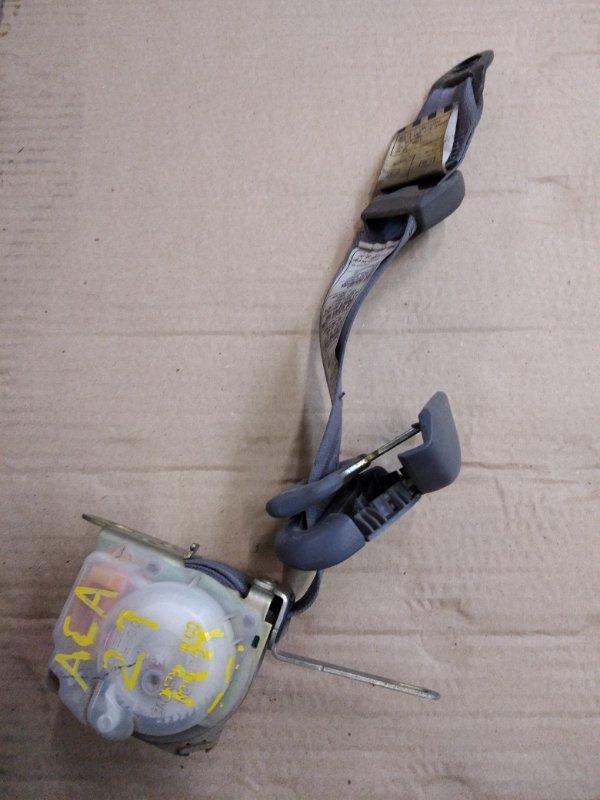 Ремень безопасности Toyota Rav 4 ACA21 1AZ-FSE 2002 задний правый
