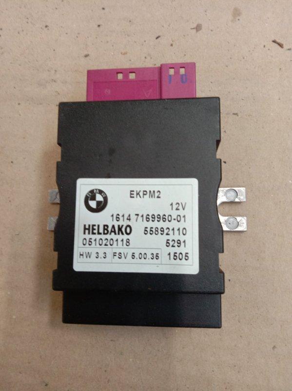 Блок управления топливным насосом Bmw 5-Series E60 N52B30 2005