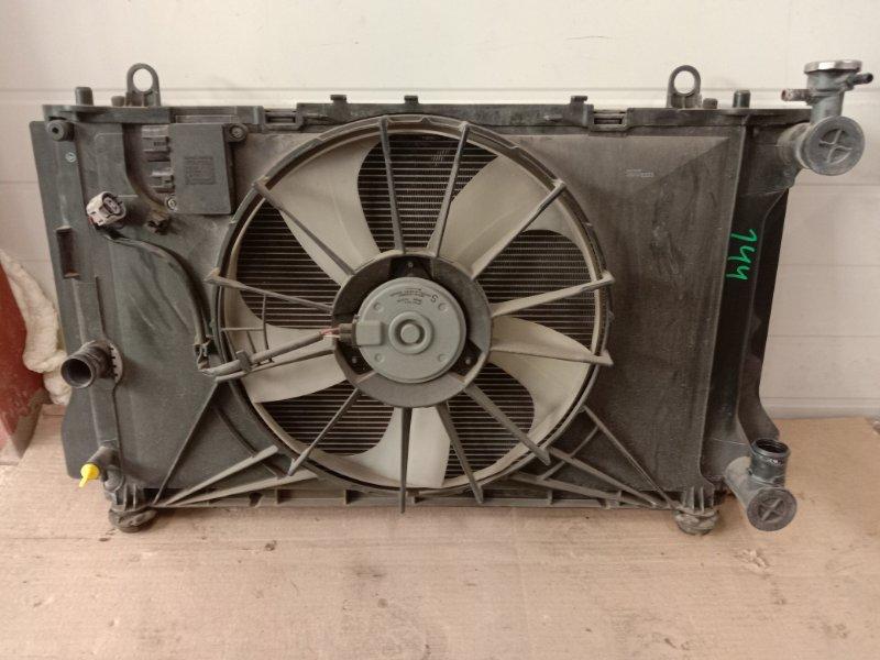 Радиатор двигателя Toyota Corolla Fielder ZRE144 2ZR-FE 2010