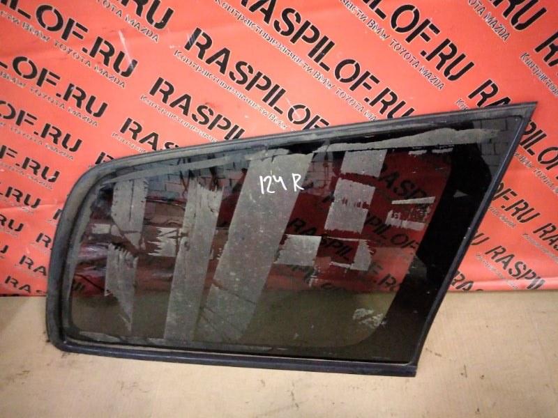 Стекло собачника Toyota Corolla Fielder NZE121 1NZ-FE 2003 правое