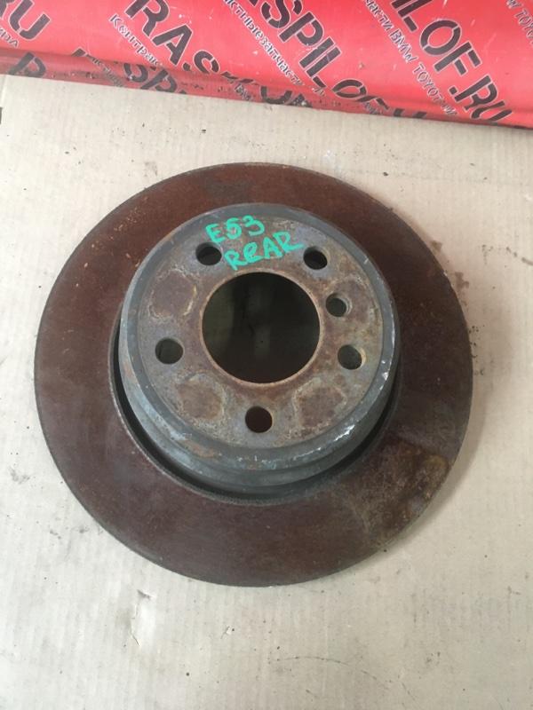 Диск тормозной Bmw X5 E53 M54B30 2005 задний